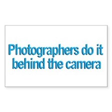 Photographers do it... Rectangle Decal