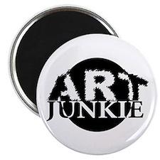 """Art Junkie"" Magnet"
