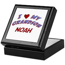I Love My Grandson Noah Keepsake Box