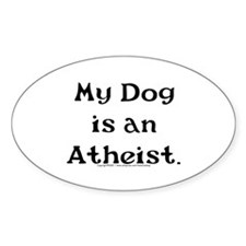 My Dog Oval Decal
