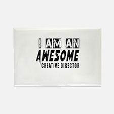 I Am Creative director Rectangle Magnet