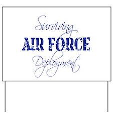 Air Force Deployment Yard Sign