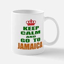 Keep Calm and go to Jamaica Mug