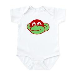 Retro Monkey Infant Creeper