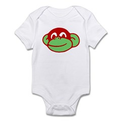 Retro Monkey Infant Creeper