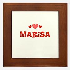 Marisa Framed Tile