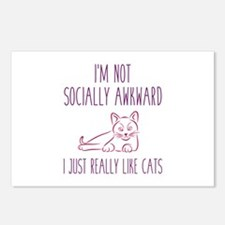 I'm Not Socially Awkward Postcards (Package of 8)