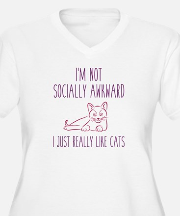I'm Not Socially Awkward T-Shirt