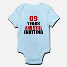 09 till Inviting Birthday Onesie