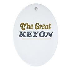 Keyon Oval Ornament