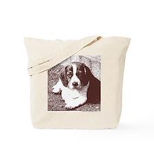 Chocolate Beagle - sketch Tote Bag