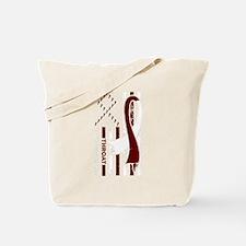 Cute Throat cancer Tote Bag