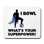 Bowling Superhero Mousepad