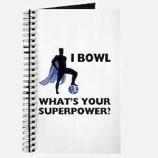 Bowling Superhero Journal