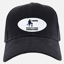 Bowling Superhero Baseball Hat