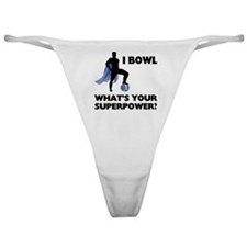 Bowling Superhero Classic Thong