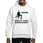 Bowling Superhero Hooded Sweatshirt