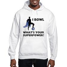 Bowling Superhero Hoodie