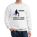 Bowling Superhero Sweatshirt