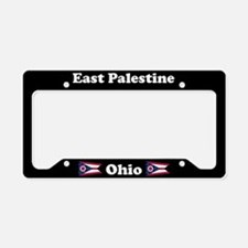 East Palestine OH - LPF License Plate Holder