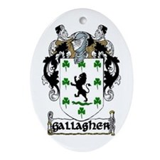 Gallagher Coat of Arms Keepsake Ornament