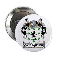 "Gallagher Coat of Arms 2.25"" Button (10 pack)"