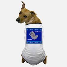 Happy New Year Peace Dove Dog T-Shirt