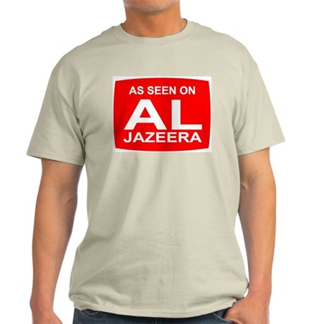 As seen on Al Jazeera Light T-Shirt