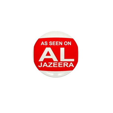 As seen on Al Jazeera Mini Button (100 pack)
