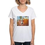 Room/Greater Swiss MD Women's V-Neck T-Shirt