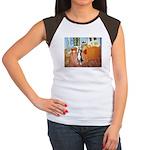 Room/Greater Swiss MD Women's Cap Sleeve T-Shirt