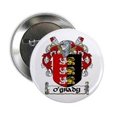 """O'Grady Coat of Arms 2.25"""" Button (10 pack)"""