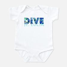 Dive St. Lucia Infant Bodysuit