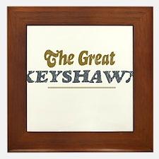 Keyshawn Framed Tile