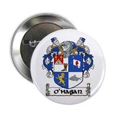"O'Hagan Coat of Arms 2.25"" Button (10 pack)"