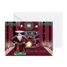 Santa Claws Cards--Feline