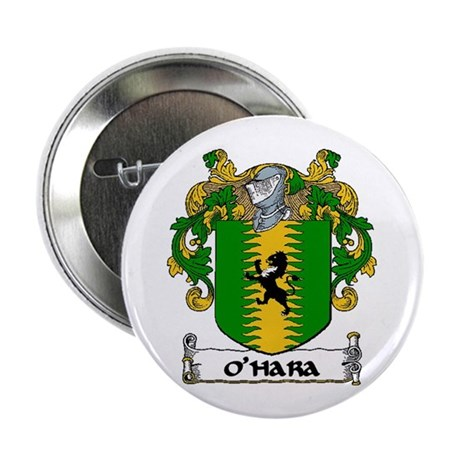 "O'Hara Coat of Arms 2.25"" Button (10 pack)"