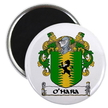 "O'Hara Coat of Arms 2.25"" Magnet (10 pack)"
