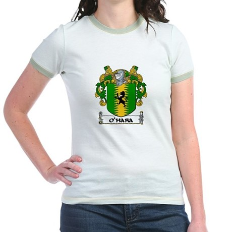 O'Hara Coat of Arms Jr. Ringer T-Shirt