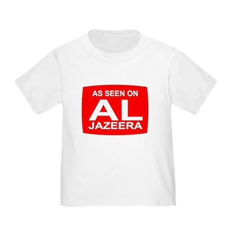 As seen on Al Jazeera Toddler T-Shirt
