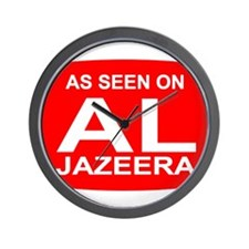 As seen on Al Jazeera Wall Clock