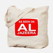 As seen on Al Jazeera Tote Bag