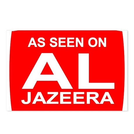 As seen on Al Jazeera Postcards (Package of 8)