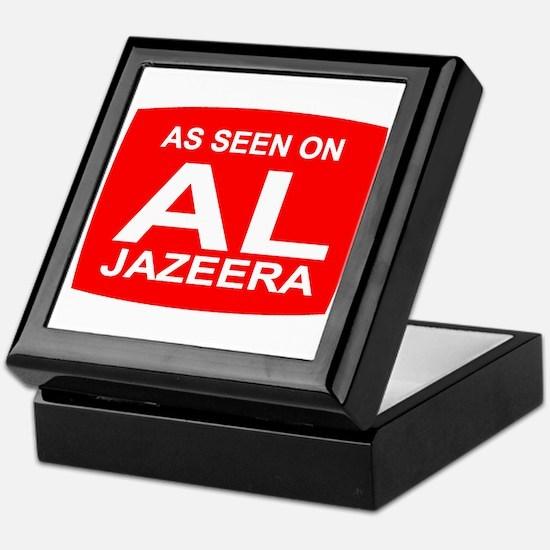 As seen on Al Jazeera Keepsake Box