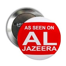 "As seen on Al Jazeera 2.25"" Button"