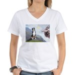 Creation / GSMD Women's V-Neck T-Shirt