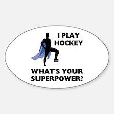 Hockey Superhero Decal