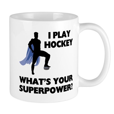 Hockey Superhero Mug Mugs