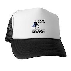 Hockey Superpower Trucker Hat