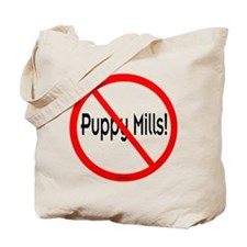 No Puppy Mills Tote Bag